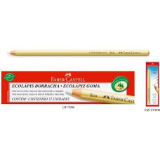 Lápis borracha